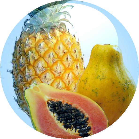Pineapple & Papaya