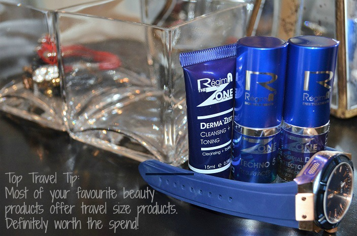 travel essential skin care